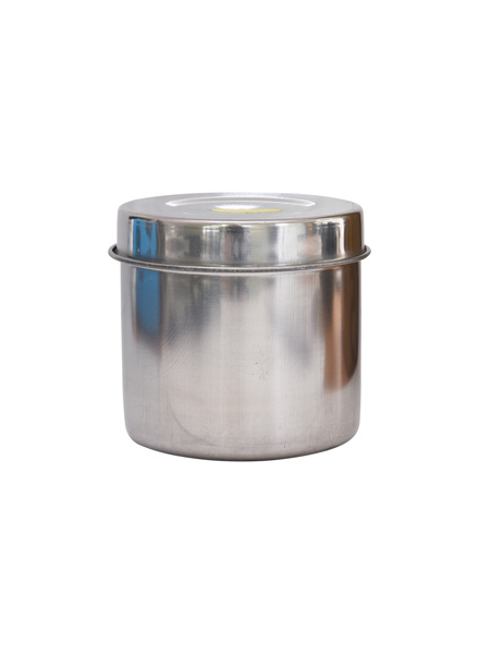 Steel Container with lid (8cm)