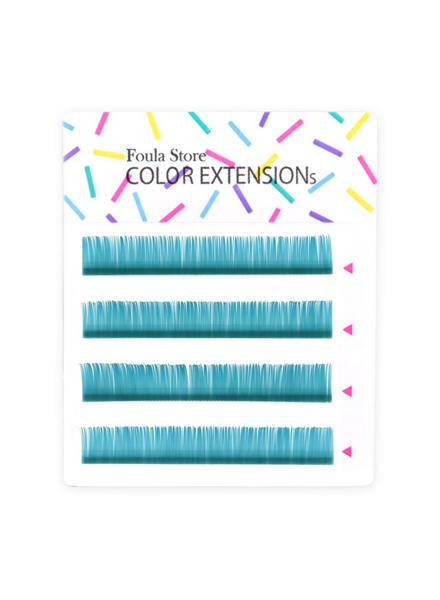 彩色單根 4列 (海洋藍)