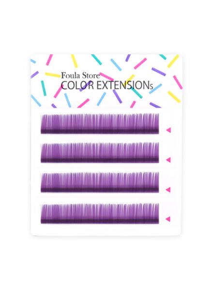 彩色單根 4列 (紫色)