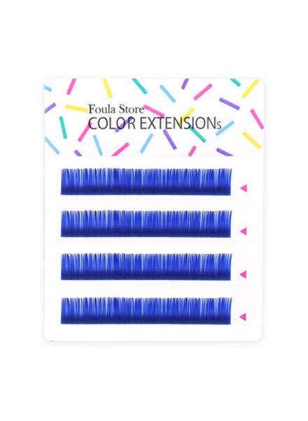 彩色單根 4列 (藍色)