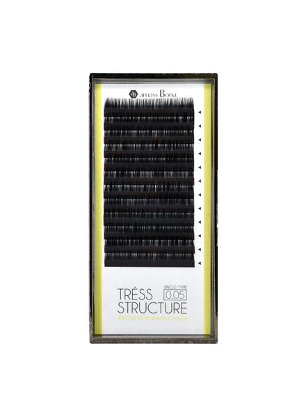 TRESS STRUCTURE 特樂思開花毛 12列 0.05 x 9-13mm MIX